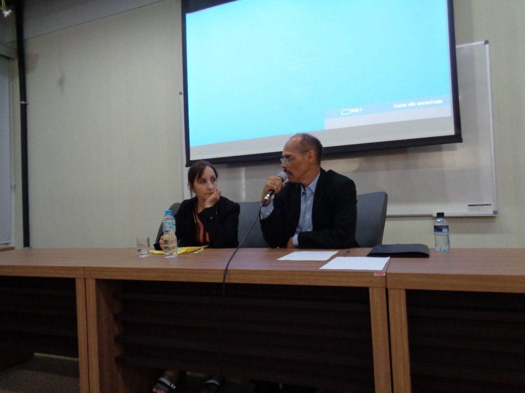 Mónica Cragnolini y Evando Nascimento