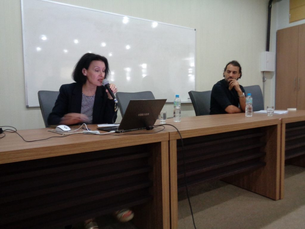 Fernanda Bernardo y Nabil Araujo